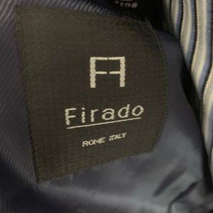 Firado Suits & Blazers - NWT Firado Navy Blue Pinstripe Sport Coat 42R